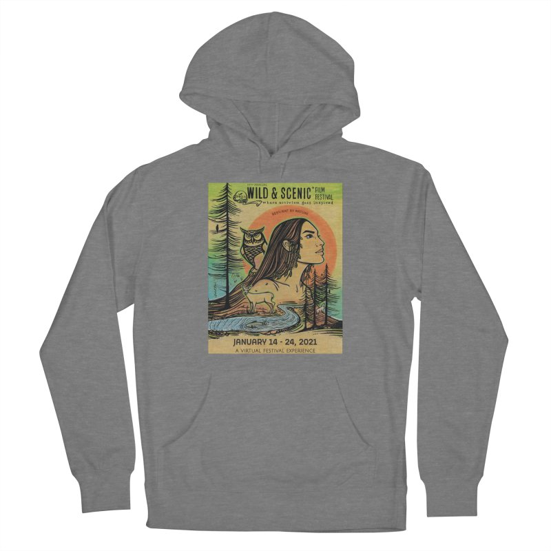 2021 Official Artwork (Full Color) Women's Pullover Hoody by Official Wild & Scenic Merchandise