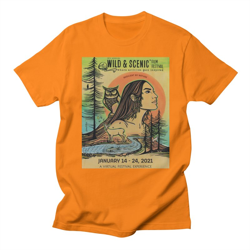 2021 Official Artwork (Full Color) Men's T-Shirt by Official Wild & Scenic Merchandise