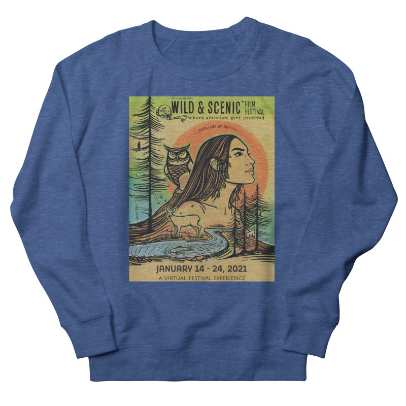 2021 Official Artwork (Full Color) Women's Sweatshirt by Official Wild & Scenic Merchandise
