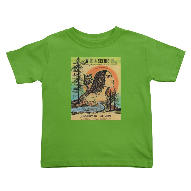 2021 Official Artwork (Full Color) Kids Toddler T-Shirt by Official Wild & Scenic Merchandise