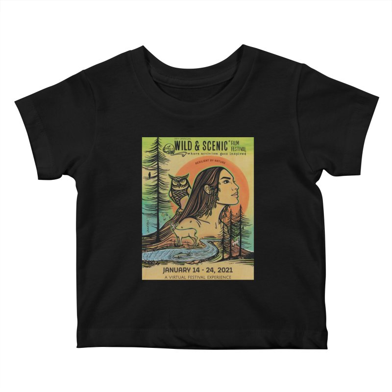 2021 Official Artwork (Full Color) Kids Baby T-Shirt by Official Wild & Scenic Merchandise