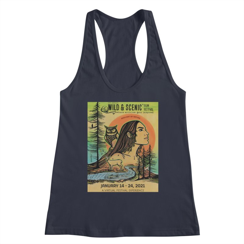 2021 Official Artwork (Full Color) Women's Tank by Official Wild & Scenic Merchandise