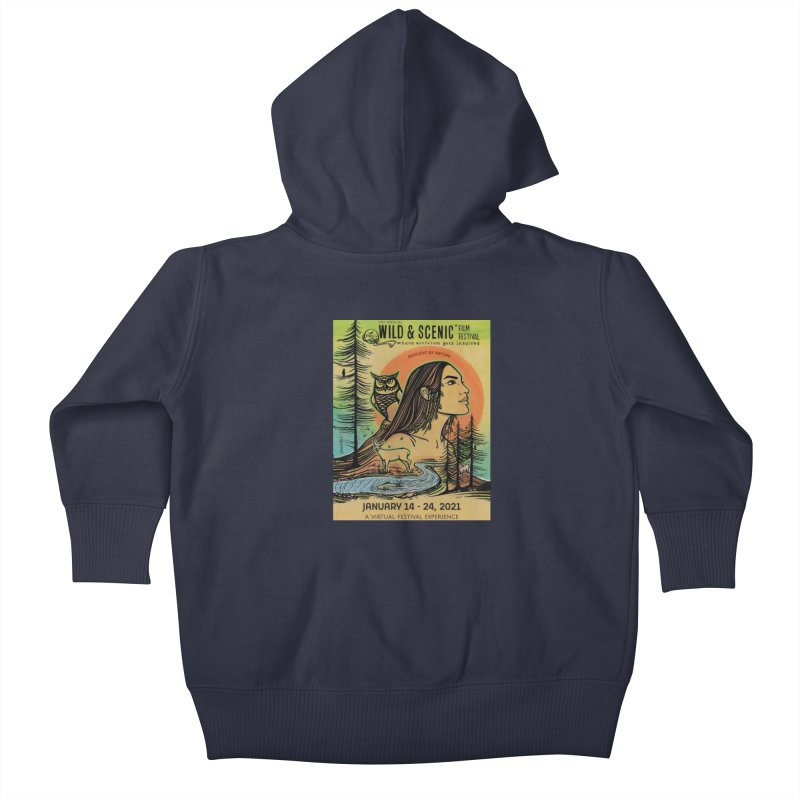 2021 Official Artwork (Full Color) Kids Baby Zip-Up Hoody by Official Wild & Scenic Merchandise
