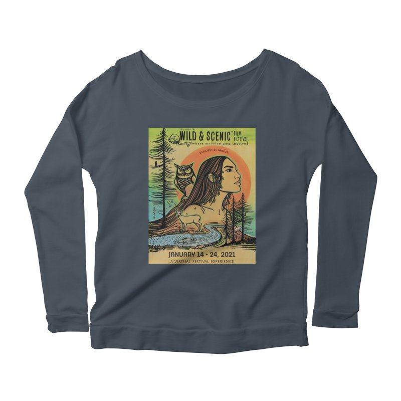 2021 Official Artwork (Full Color) Women's Longsleeve T-Shirt by Official Wild & Scenic Merchandise