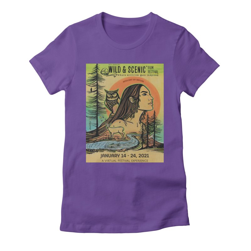 2021 Official Artwork (Full Color) Women's T-Shirt by Official Wild & Scenic Merchandise