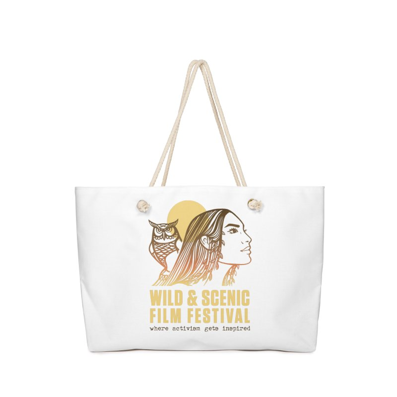 Woman & Owl w/ Sun Accessories Bag by Official Wild & Scenic Merchandise