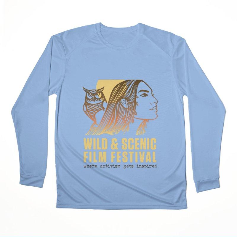 Woman & Owl w/ Sun Women's Longsleeve T-Shirt by Official Wild & Scenic Merchandise