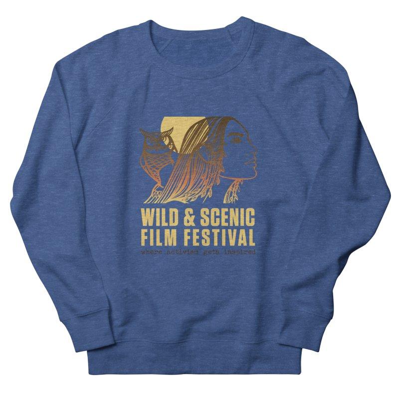 Woman & Owl w/ Sun Men's Sweatshirt by Official Wild & Scenic Merchandise