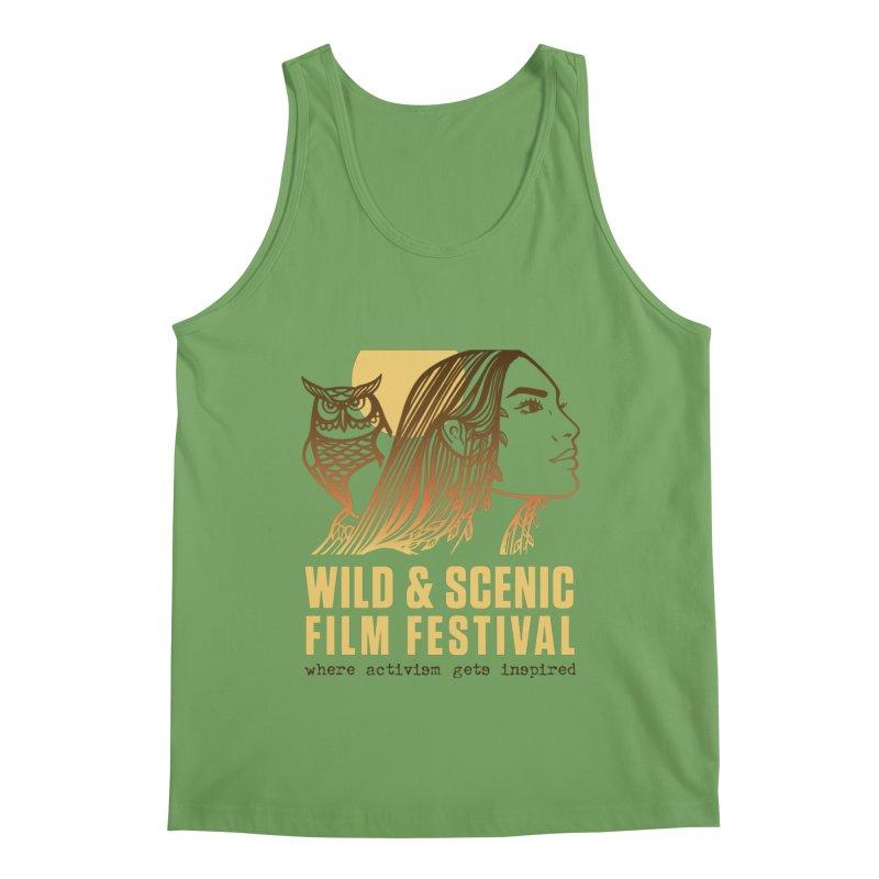 Woman & Owl w/ Sun Men's Tank by Official Wild & Scenic Merchandise