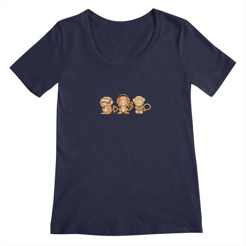 Three Modern Monkeys   by wuhuli's Artist Shop