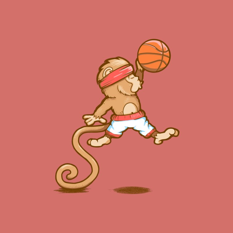 Monkey baller None  by wuhuli's Artist Shop