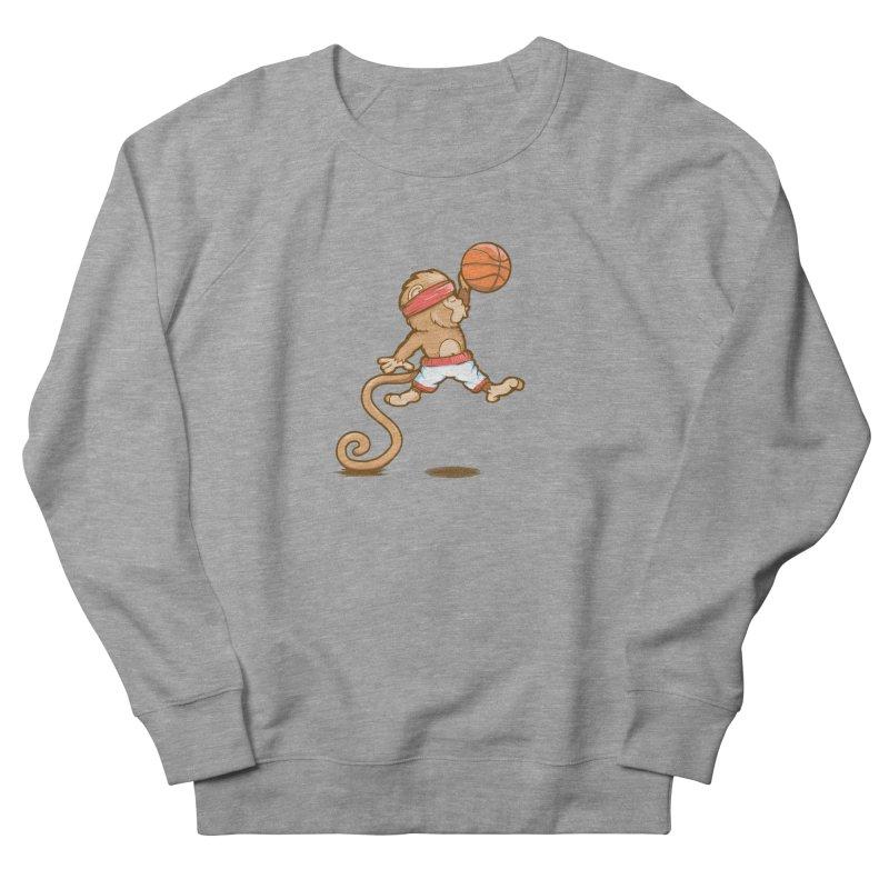 Monkey baller Women's Sweatshirt by wuhuli's Artist Shop