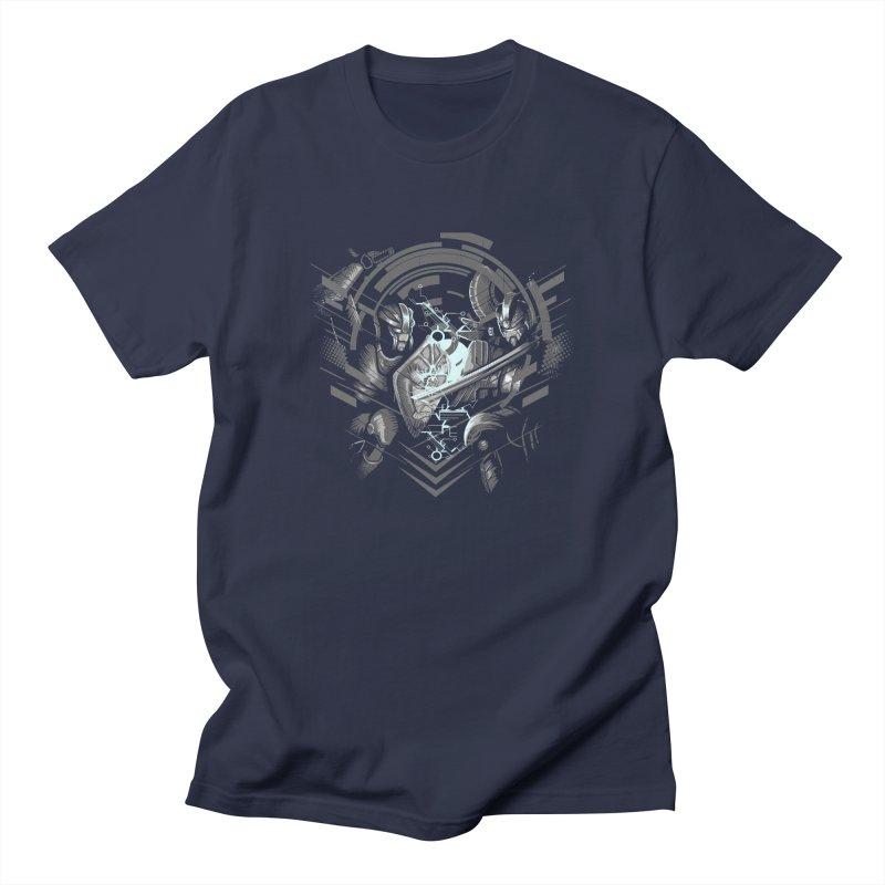 Cyber Duel Men's T-Shirt by wuhuli's Artist Shop