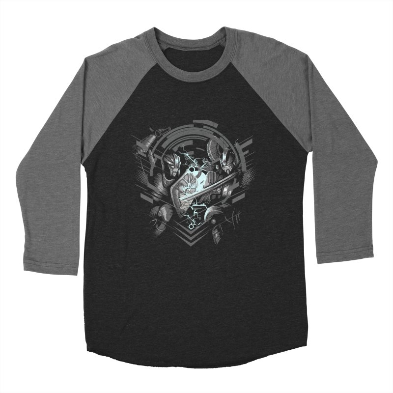 Cyber Duel Women's Baseball Triblend T-Shirt by wuhuli's Artist Shop