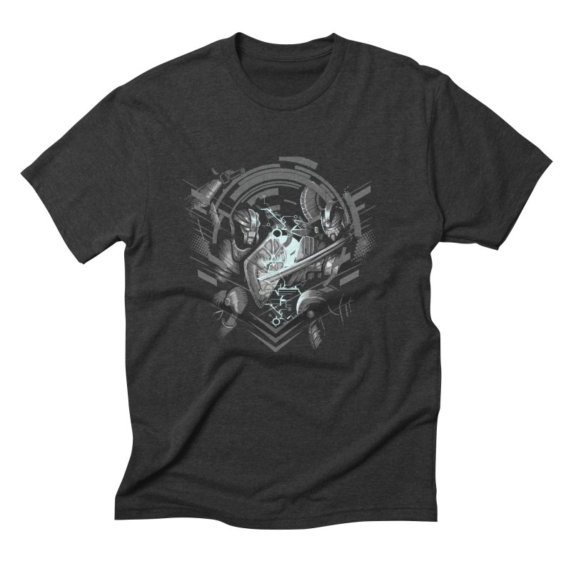 Cyber Duel Men's Triblend T-shirt by wuhuli's Artist Shop
