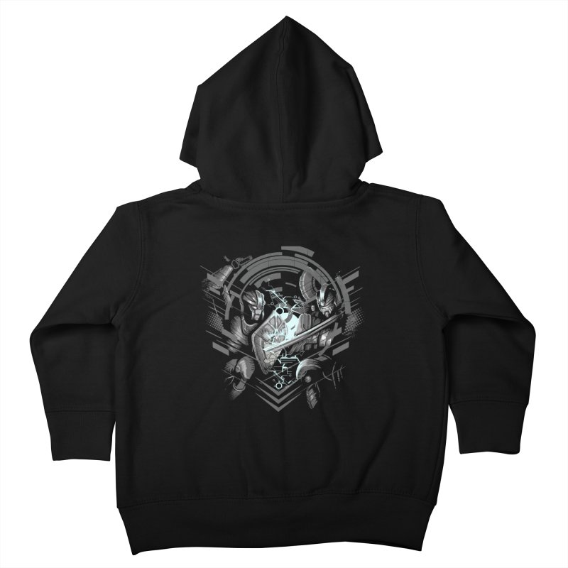 Cyber Duel Kids Toddler Zip-Up Hoody by wuhuli's Artist Shop