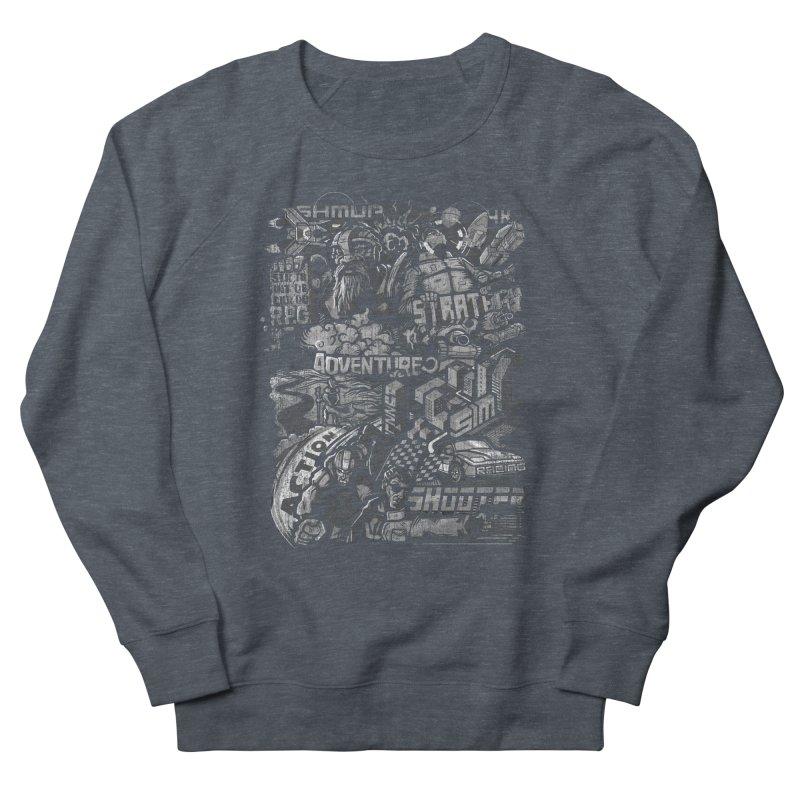 All round gamer Women's Sweatshirt by wuhuli's Artist Shop