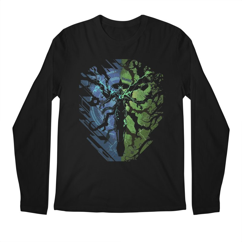 TechnoArcane Men's Longsleeve T-Shirt by wuhuli's Artist Shop
