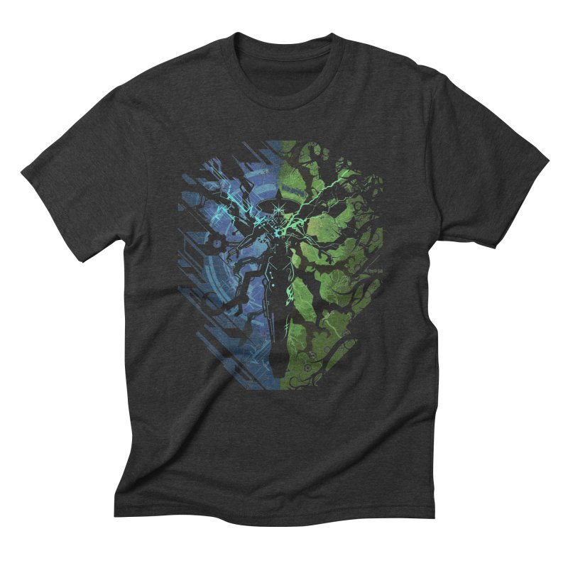 TechnoArcane Men's Triblend T-Shirt by wuhuli's Artist Shop