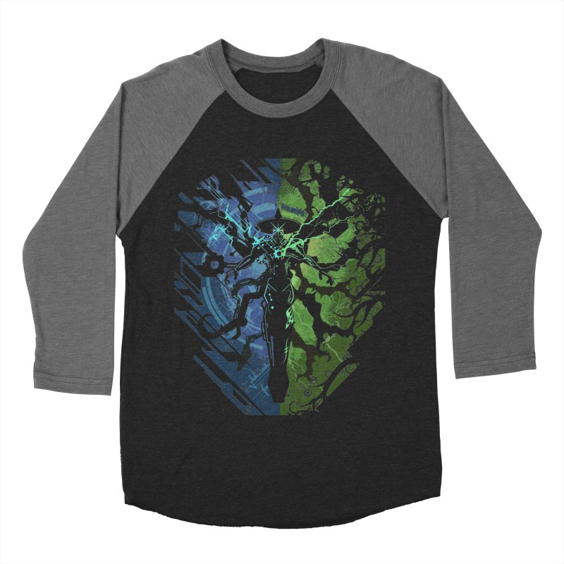 TechnoArcane Men's Baseball Triblend T-Shirt by wuhuli's Artist Shop