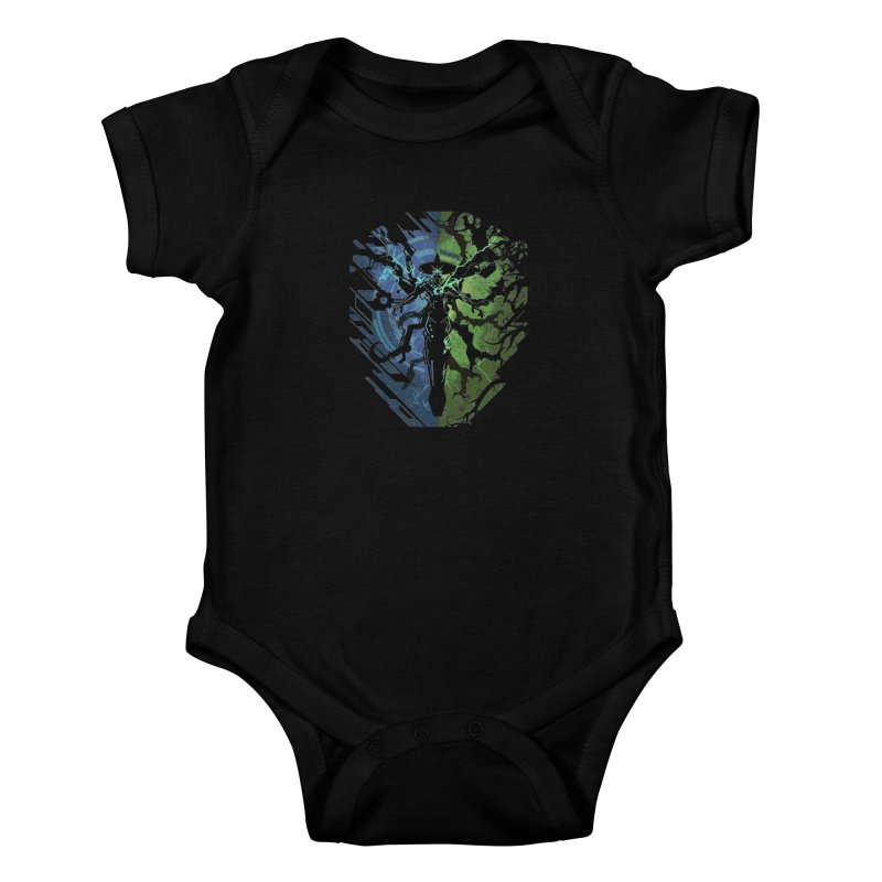 TechnoArcane Kids Baby Bodysuit by wuhuli's Artist Shop