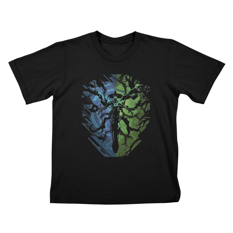 TechnoArcane Kids T-Shirt by wuhuli's Artist Shop
