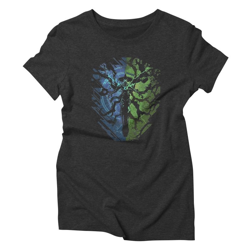 TechnoArcane Women's Triblend T-shirt by wuhuli's Artist Shop
