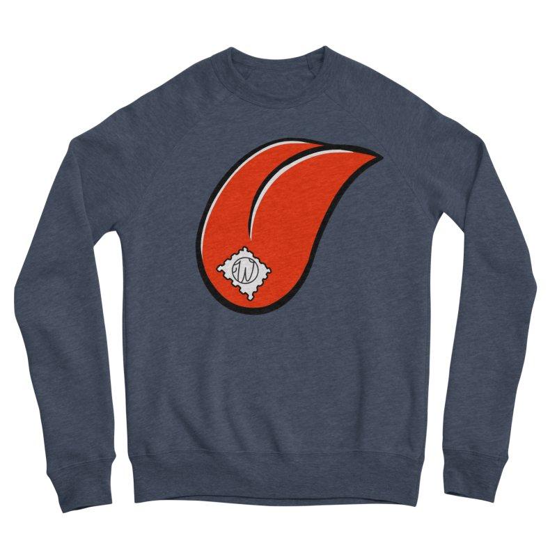 Acid Test in Men's Sponge Fleece Sweatshirt Heather Indigo by Wunderland Tattoo