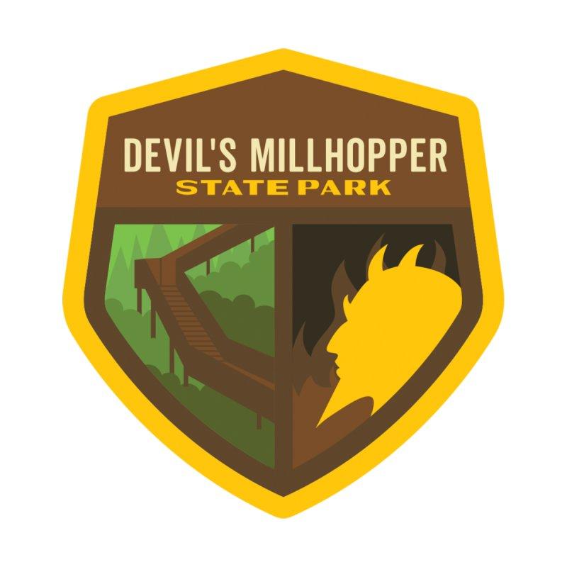 Devil's Millhopper State Park Men's Sweatshirt by Wunderland Tattoo