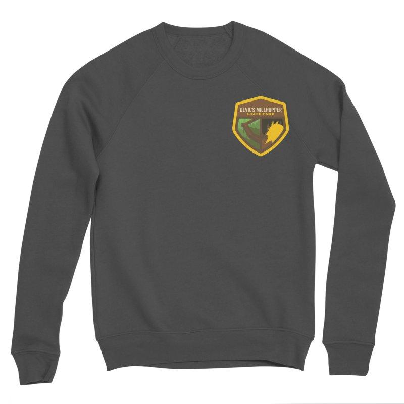Devil's Millhopper State Park Men's Sponge Fleece Sweatshirt by Wunderland Tattoo