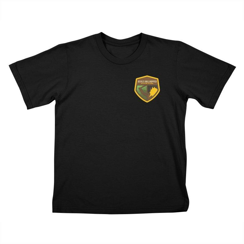 Devil's Millhopper State Park Kids T-Shirt by Wunderland Tattoo