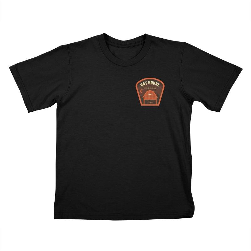 Bat House Kids T-Shirt by Wunderland Tattoo