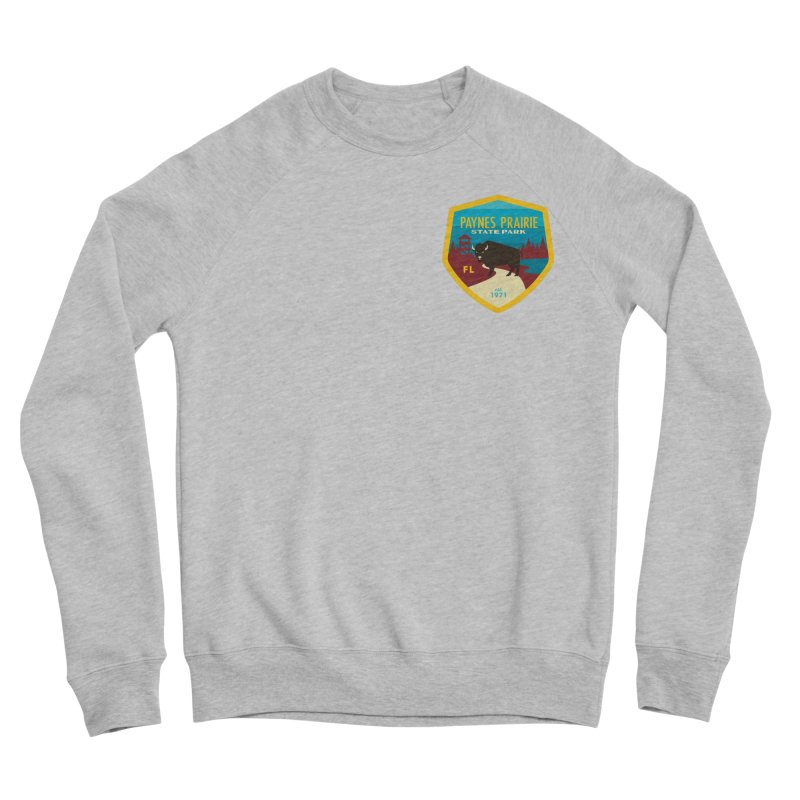 Paynes Prairie Men's Sponge Fleece Sweatshirt by Wunderland Tattoo