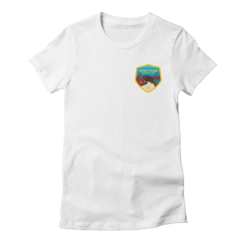Paynes Prairie Women's Fitted T-Shirt by Wunderland Tattoo
