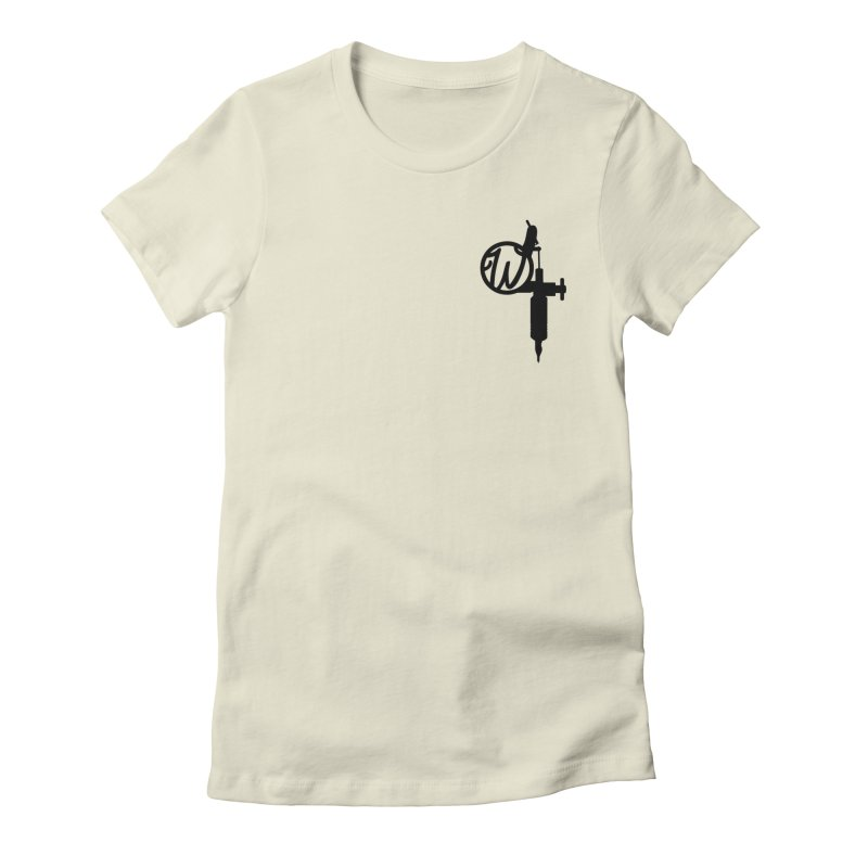 Wumachine Women's Fitted T-Shirt by Wunderland Tattoo