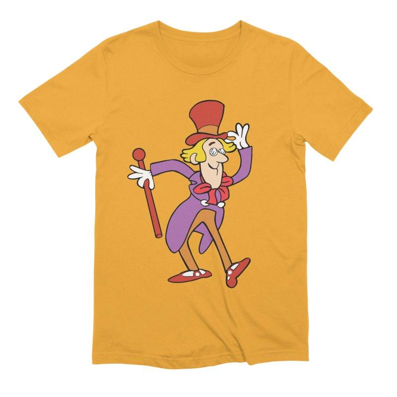 Wunka in Men's Extra Soft T-Shirt Gold by Wunderland Tattoo
