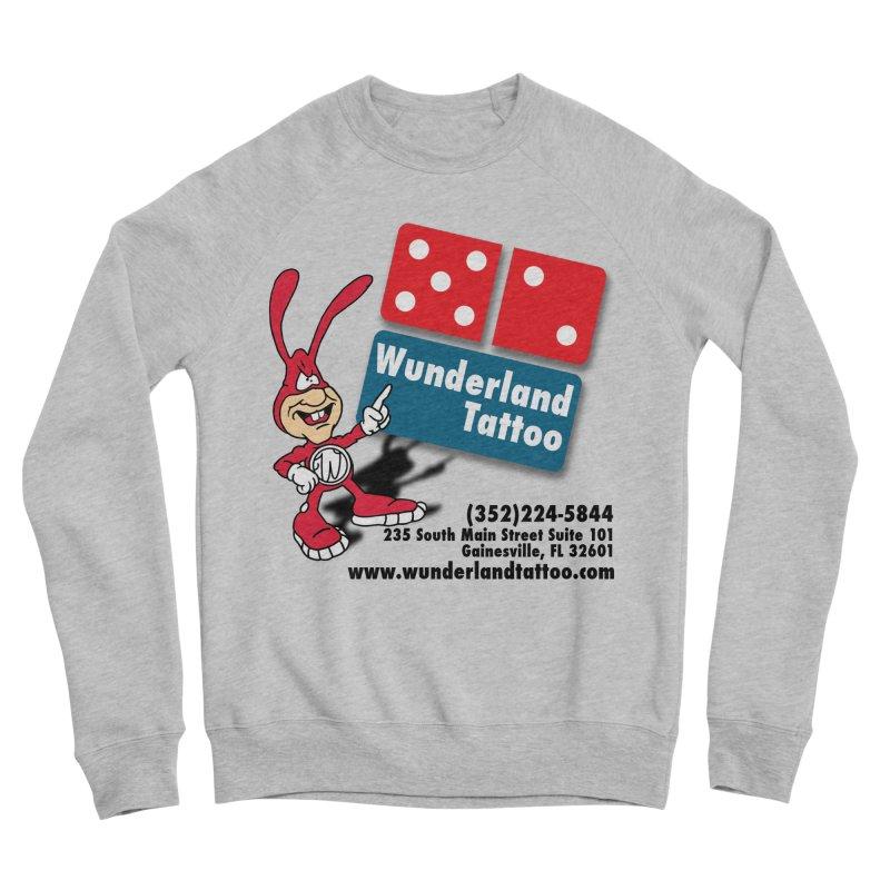 Wunderland Pizza Women's Sponge Fleece Sweatshirt by Wunderland Tattoo