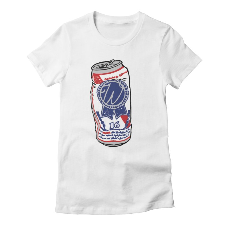 PBRW Women's Fitted T-Shirt by Wunderland Tattoo