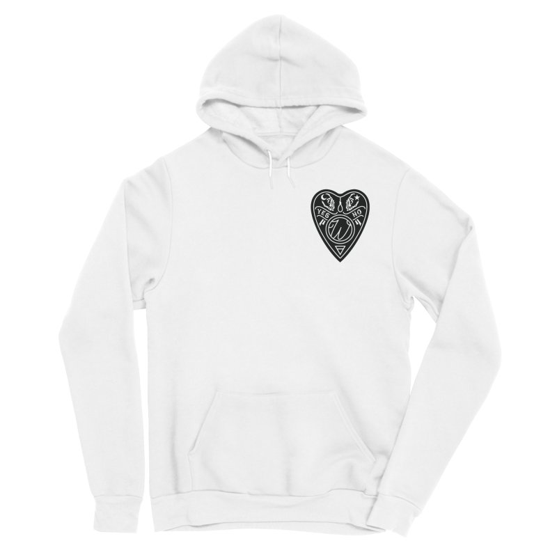 Wu Planchet Women's Sponge Fleece Pullover Hoody by Wunderland Tattoo