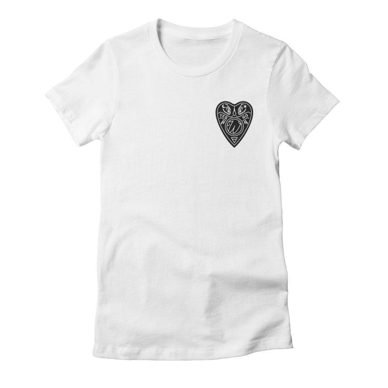 Wu Planchet Women's Fitted T-Shirt by Wunderland Tattoo