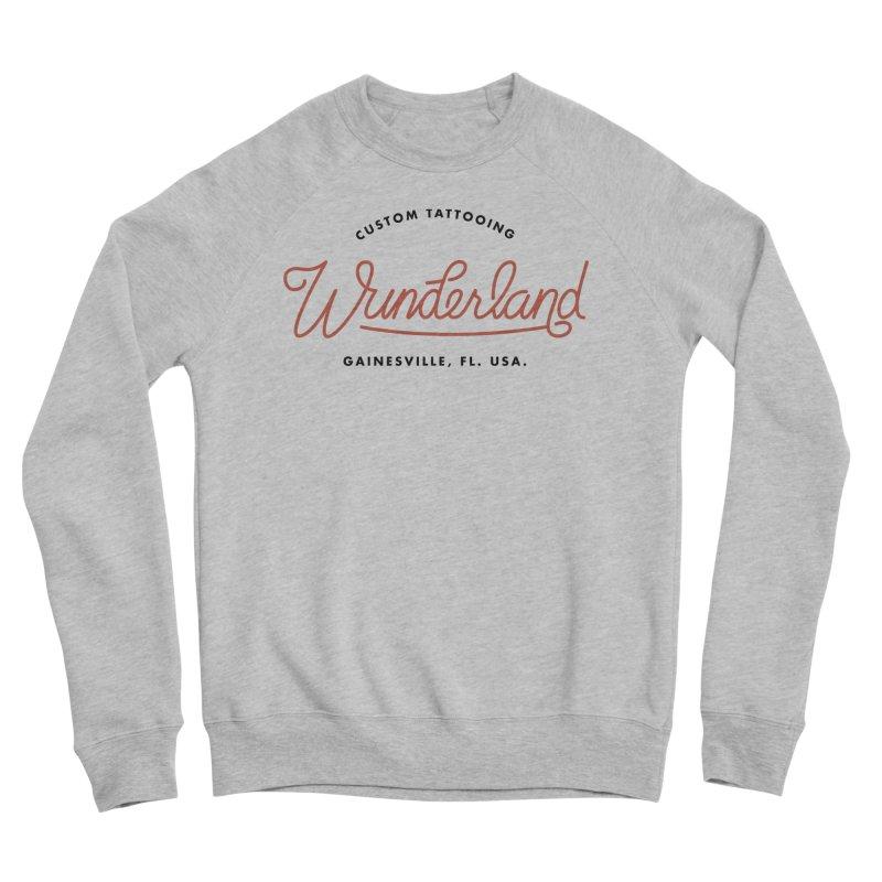 Wunderland Tattooing Women's Sponge Fleece Sweatshirt by Wunderland Tattoo