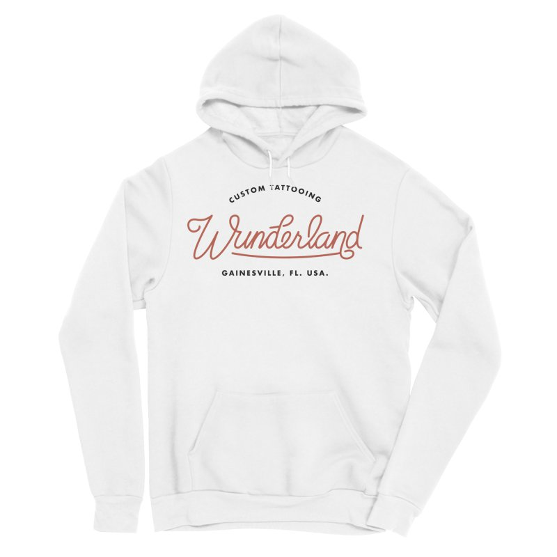 Wunderland Tattooing Women's Sponge Fleece Pullover Hoody by Wunderland Tattoo