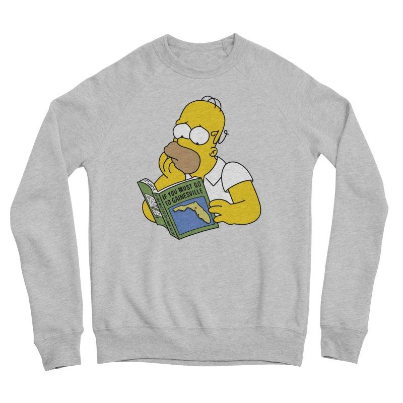 If you must go to Gainesville Women's Sponge Fleece Sweatshirt by Wunderland Tattoo