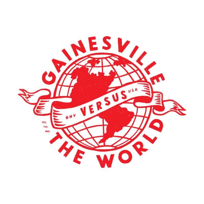 Gainesville vs The World Men's Sweatshirt by Wunderland Tattoo
