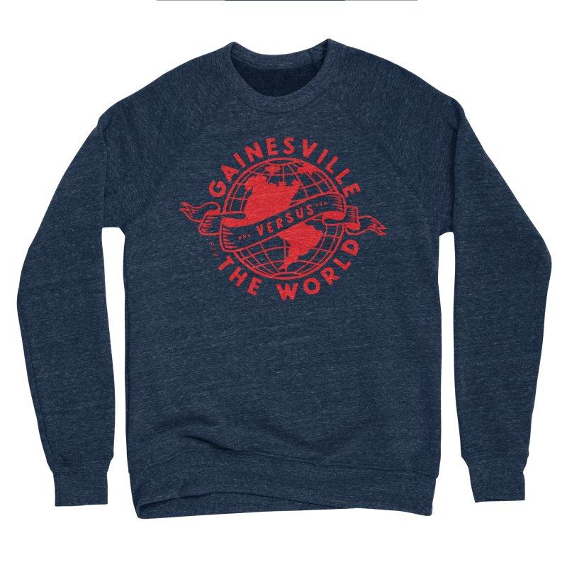 Gainesville vs The World in Men's Sponge Fleece Sweatshirt Oxford by Wunderland Tattoo