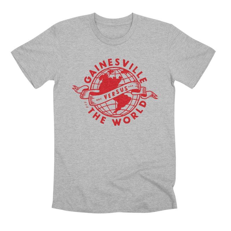 Gainesville vs The World Men's Premium T-Shirt by Wunderland Tattoo