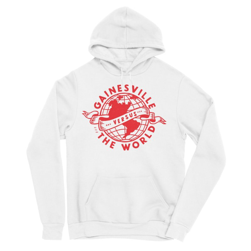 Gainesville vs The World Women's Sponge Fleece Pullover Hoody by Wunderland Tattoo