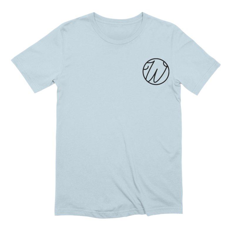Wunderland Logo Men's Extra Soft T-Shirt by Wunderland Tattoo