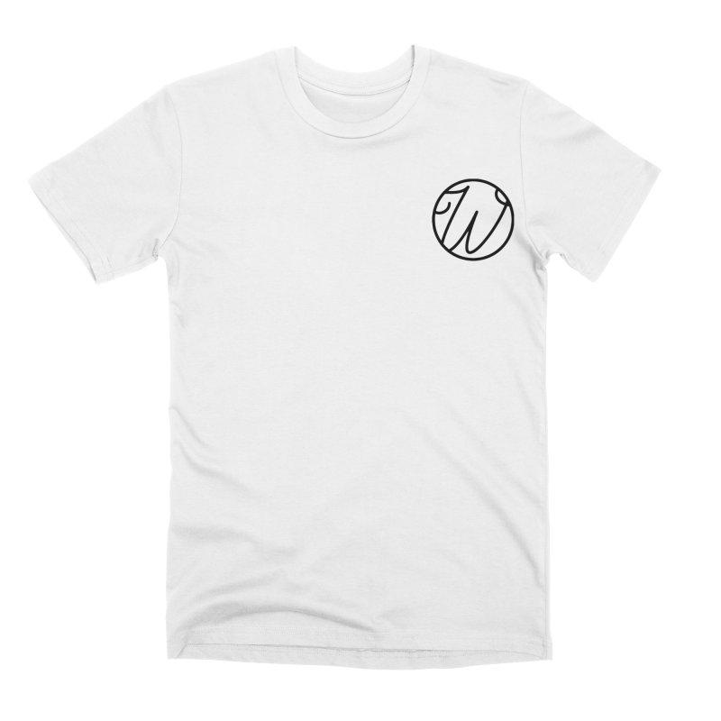 Wunderland Logo Men's Premium T-Shirt by Wunderland Tattoo