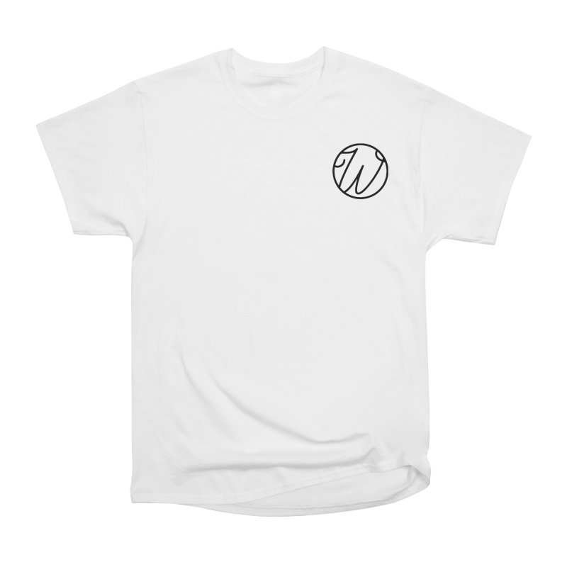 Wunderland Logo Men's Heavyweight T-Shirt by Wunderland Tattoo